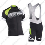 2016 Team NW Northwave Cycle Bib Kit Black Green