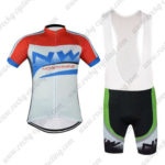 2016 Team NW Northwave Cycle Bib Kit Red Blue White