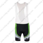 2016 Team NW Northwave Cycle Bib Shorts Bottoms Black White Green
