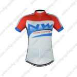 2016 Team NW Northwave Cycle Jersey Maillot Red Blue White