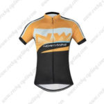 2016 Team NW Northwave Cycle Jersey Maillot Yellow Black