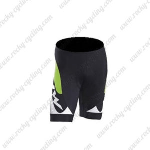 2016 Team NW Northwave Cycle Shorts Bottoms Black Green