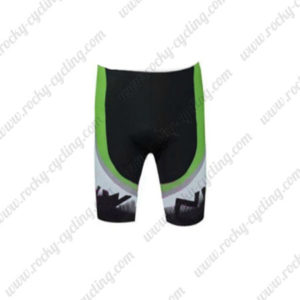 2016 Team NW Northwave Cycle Shorts Bottoms Black White Green