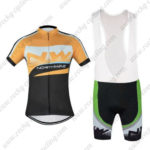 2016 Team NW Northwave Cycling Bib Kit Yellow Black