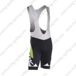 2016 Team NW Northwave Riding Bib Shorts Bottoms Black Green