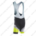 2016 Team NW Northwave Riding Bib Shorts Bottoms Light Green Black