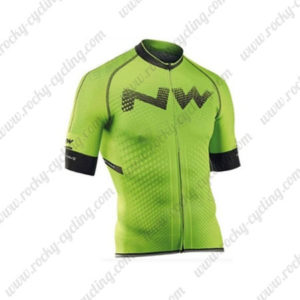 2016 Team NW Northwave Riding Jersey Maillot Shirt Green