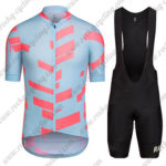 2016 Team RAPHA Cycling Bib Kit Blue Red