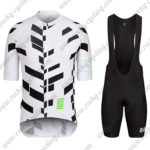 2016 Team RAPHA Cycling Bib Kit White Black