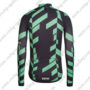 2016 Team RAPHA Riding Long Jersey Maillot Black Green