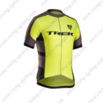 2016 Team TREK Biking Jersey Maillot Shirt Yellow Brown