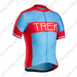 2016 Team TREK Cycling Jersey Maillot Shirt Blue Red