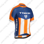 2016 Team TREK Riding Jersey Maillot Shirt Blue Orange