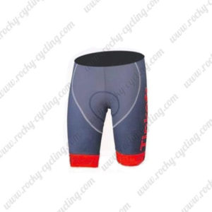 2016 Team Tinkoff Bike Shorts Bottoms Grey Red