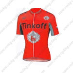 2016 Team Tinkoff Cycling Jersey Maillot Shirt Red