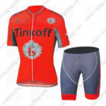2016 Team Tinkoff Cycling Kit Red