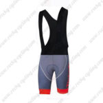 2016 Team Tinkoff Riding Bib Shorts Bottoms Grey Red