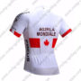 2017 Team AG2R LA MONDIALE CANADA Bike Riding Jersey Maillot Shirt White Red