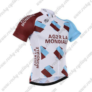 2017 Team AG2R LA MONDIALE Cycle Jersey Maillot Shirt