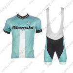 2017 Team BIANCHI Cycling Bib Kit Blue