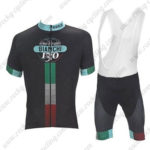 2017 Team BIANCHI Cycling Bib Kit Bottoms Black Green Red