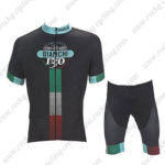 2017 Team BIANCHI Cycling Kit Black Green Red