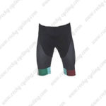 2017 Team BIANCHI Cycling Shorts Bottoms Black Green Red