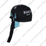 2017 Team BIANCHI MILANO Riding Bandana Head Scarf Black Blue