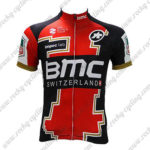 2017 Team BMC Cycling Jersey Maillot Shirt Red Black White