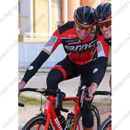 ... Winter Cycle Apparel Thermal Fleece Riding Long Jersey and Padded Pants  Tights Red Black. 2017 Team BMC Cycling Long Suit Red Black 57742b997
