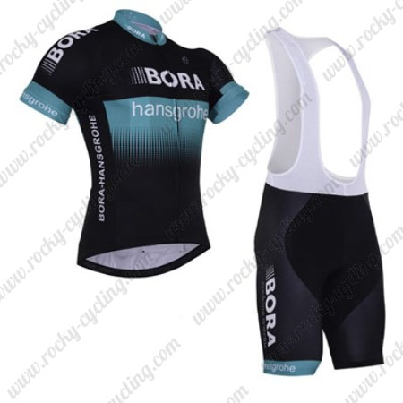 2017 Team BORA hansgrohe Riding Outfit Cycle Jersey and Padded Bib ... 1e7bde6d3