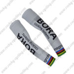 2017 Team BORA UCI Champion Cycle Bandan Head Scarf White Rainbow