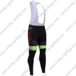 2017 Team Cannondale drapac Cycle Long Bib Pants Tights Black Green