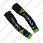 2017 Team Dimension data Cycling Arm Warmers Sleeve Black Green