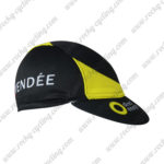 2017 Team Direct Energie VENDEE Riding Cap Hat Black Yellow
