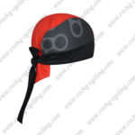 2017 Team GCN Biking Bandana Head Scarf Black Red