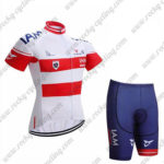 2017 Team IAM Austria Bike Kit White Red