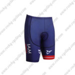2017 Team IAM Austria Bike Shorts Bottoms Blue
