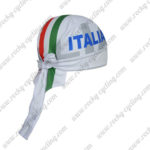 2017 Team ITALIA Riding Bandana Head Scarf White Red Green