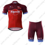 2017 Team KATUSHA Alpecin Cycle Kit Red