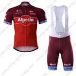 2017 Team KATUSHA Alpecin Cycling Bib Kit Red