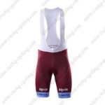 2017 Team KATUSHA Alpecin Riding Bib Shorts Bottoms Red