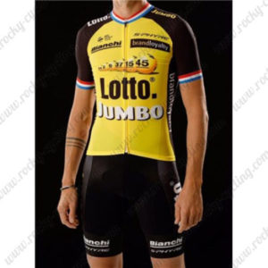 2017 Team LOTTO JUMBO Bicycle Kit Yellow Black