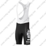 2017 Team LOTTO JUMBO Cycle Bib Shorts Bottoms Black