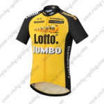 2017 Team LOTTO JUMBO Cycle Jersey Maillot Shirt Yellow Black