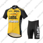 2017 Team LOTTO JUMBO Cycle Kit Yellow Black