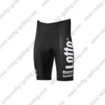 2017 Team LOTTO JUMBO Cycle Shorts Bottoms Black