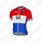 2017 Team LOTTO JUMBO Netherlands Bicycle Jersey Maillot Shirt Red Blue