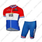 2017 Team LOTTO JUMBO Netherlands Bike Kit Red Blue