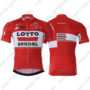 2017 Team LOTTO SOUDAL Biking Jersey Maillot Shirt Red